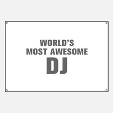 WORLDS MOST AWESOME DJ-Akz gray 500 Banner