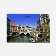 Ljubljana, Slovenia photograph Rectangle Magnet