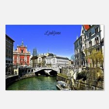 Ljubljana, Slovenia photo Postcards (Package of 8)