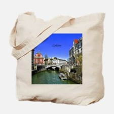 Ljubljana, Slovenia photograph Tote Bag