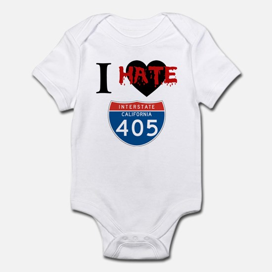 I Hate The I405 Infant Bodysuit