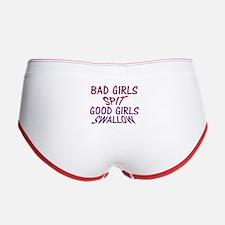 Good Girls Swallow Women's Boy Brief