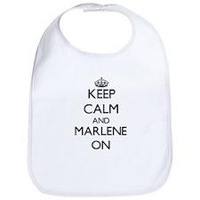 Keep Calm and Marlene ON Bib