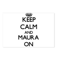 Keep Calm and Maura ON Postcards (Package of 8)