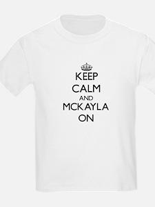 Keep Calm and Mckayla O Women's Cap Sleeve T-Shirt