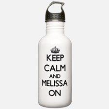 Keep Calm and Melissa Water Bottle