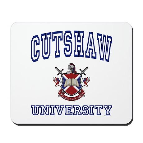 CUTSHAW University Mousepad