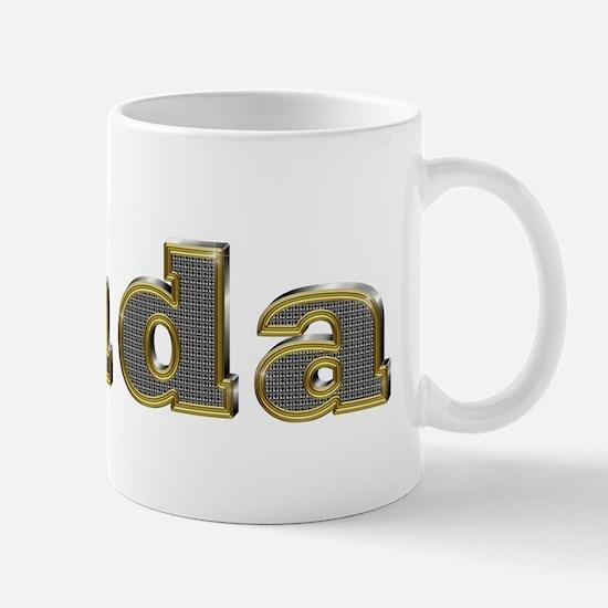 Linda Gold Diamond Bling Mugs