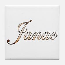 Gold Janae Tile Coaster