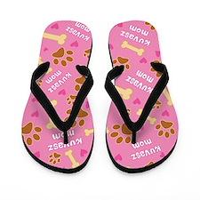 Kuvasz Dog Mom Gift Flip Flops