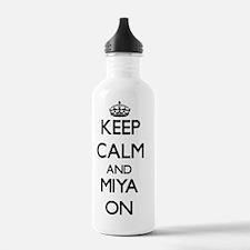Keep Calm and Miya ON Water Bottle
