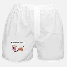 Baking Cookies (Custom) Boxer Shorts