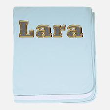 Lara Gold Diamond Bling baby blanket