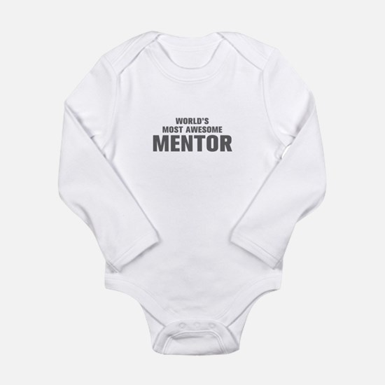WORLDS MOST AWESOME Mentor-Akz gray 500 Body Suit