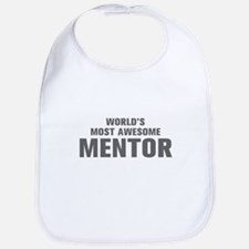 WORLDS MOST AWESOME Mentor-Akz gray 500 Bib