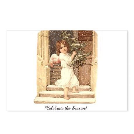 Celebrate The Season - Little Victorian Angel Post