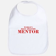 WORLDS MOST AWESOME Mentor-Bod red 300 Bib