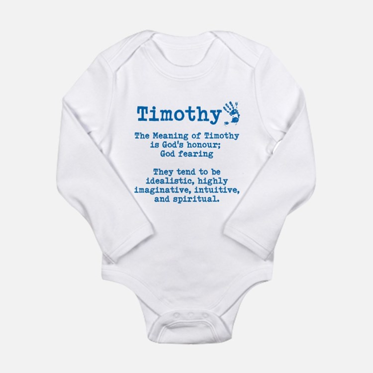 The Meaning of Timothy Body Suit