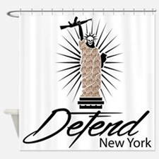 Defend New York Shower Curtain