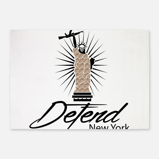 Defend New York 5'x7'Area Rug
