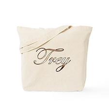 Gold Trey Tote Bag