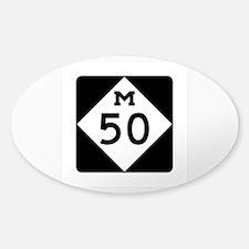 M-50, Michigan Decal