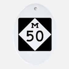 M-50, Michigan Ornament (Oval)
