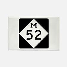 M-52, Michigan Rectangle Magnet