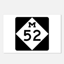 M-52, Michigan Postcards (Package of 8)