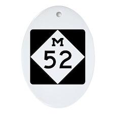 M-52, Michigan Ornament (Oval)