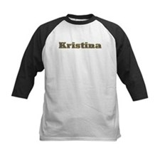 Kristina Gold Diamond Bling Baseball Jersey