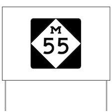 M-55, Michigan Yard Sign