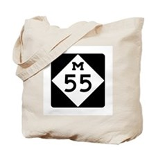 M-55, Michigan Tote Bag