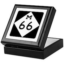 M-66, Michigan Keepsake Box