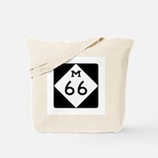 M-66, Michigan Tote Bag