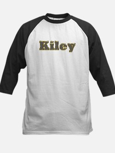 Kiley Gold Diamond Bling Baseball Jersey