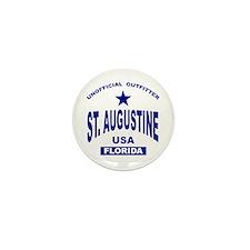 Saint Augustine Mini Button