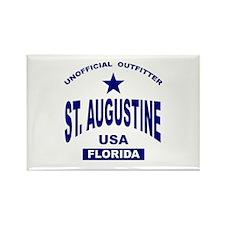 Saint Augustine Rectangle Magnet