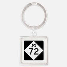 M-72, Michigan Square Keychain