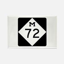 M-72, Michigan Rectangle Magnet