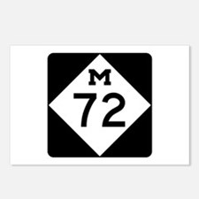 M-72, Michigan Postcards (Package of 8)