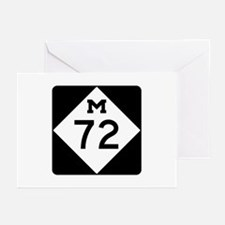M-72, Michigan Greeting Cards (Pk of 10)