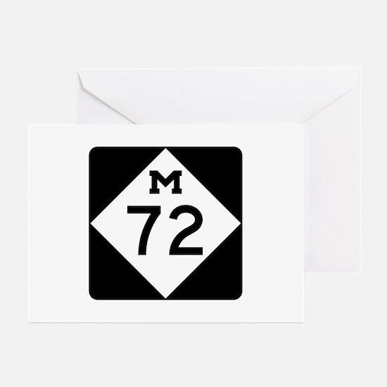 M-72, Michigan Greeting Cards (Pk of 10)