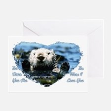 The Otter You Are Greeting Card