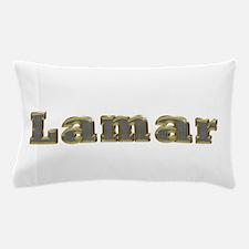 Lamar Gold Diamond Bling Pillow Case