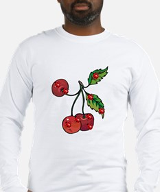 Ladybugs and Cherries Long Sleeve T-Shirt