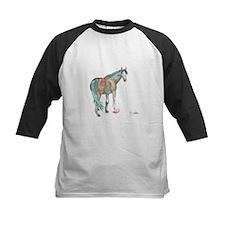 Abstract Watercolor Horse Painting Baseball Jersey