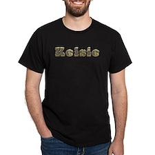 Kelsie Gold Diamond Bling T-Shirt