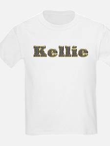 Kellie Gold Diamond Bling T-Shirt
