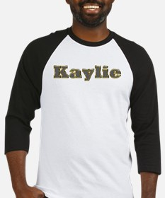 Kaylie Gold Diamond Bling Baseball Jersey